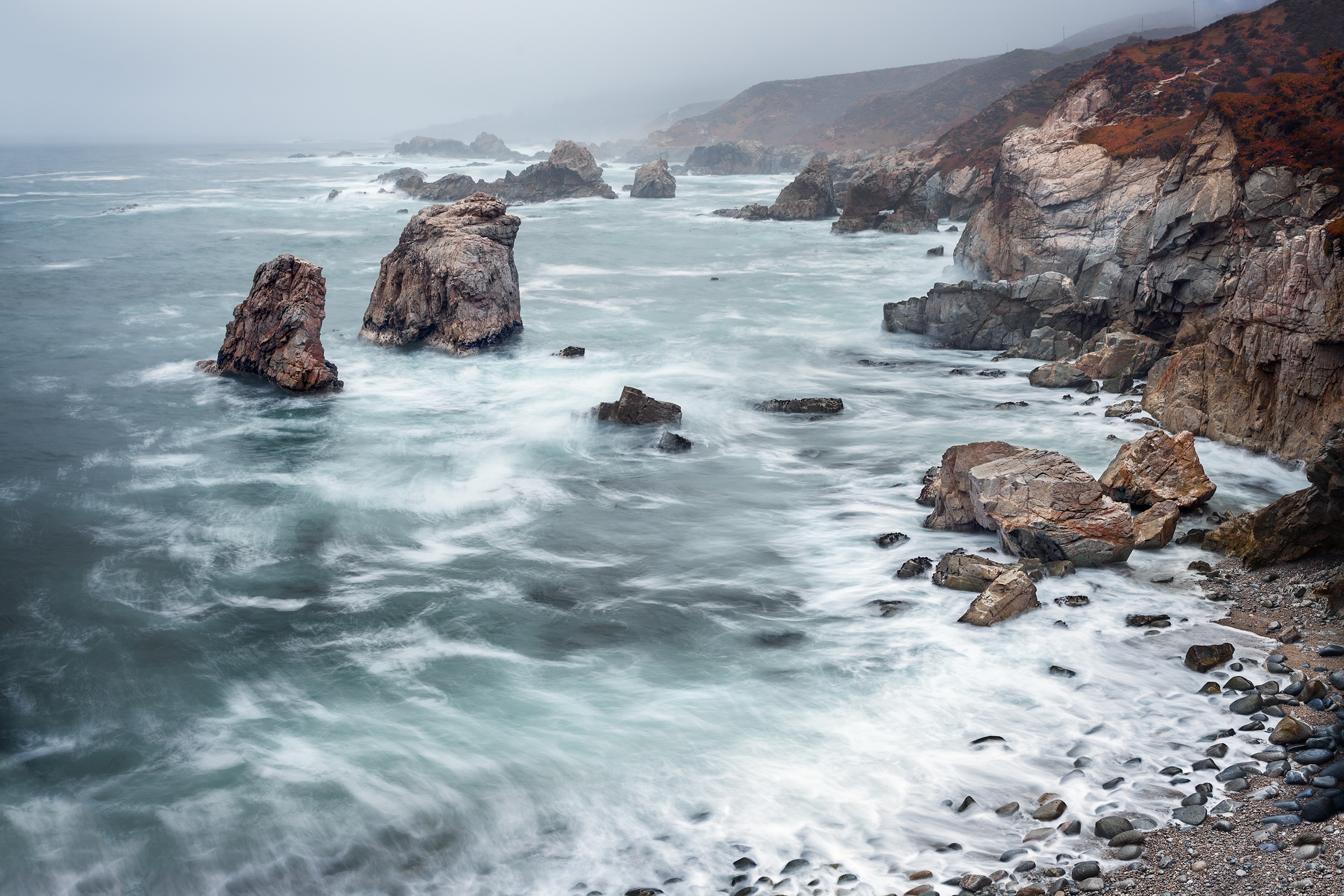 Garrapata Sea Stacks - Big Sur (6037)