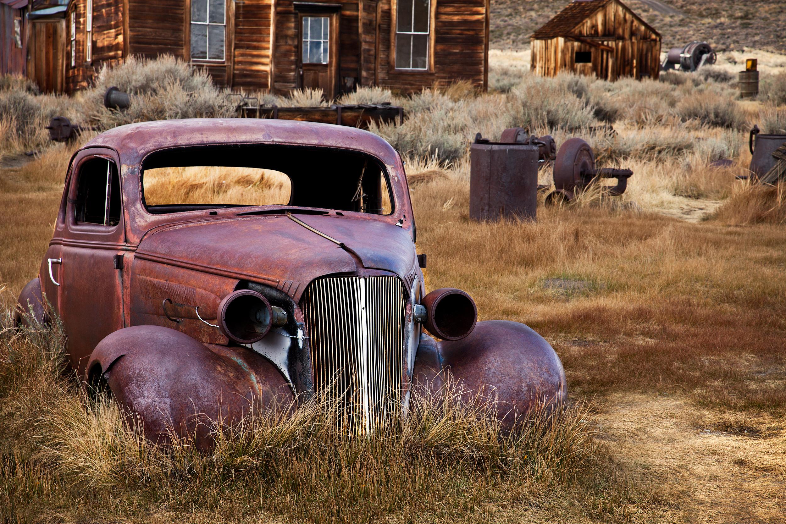 Abandon Car - Bodie (6082)
