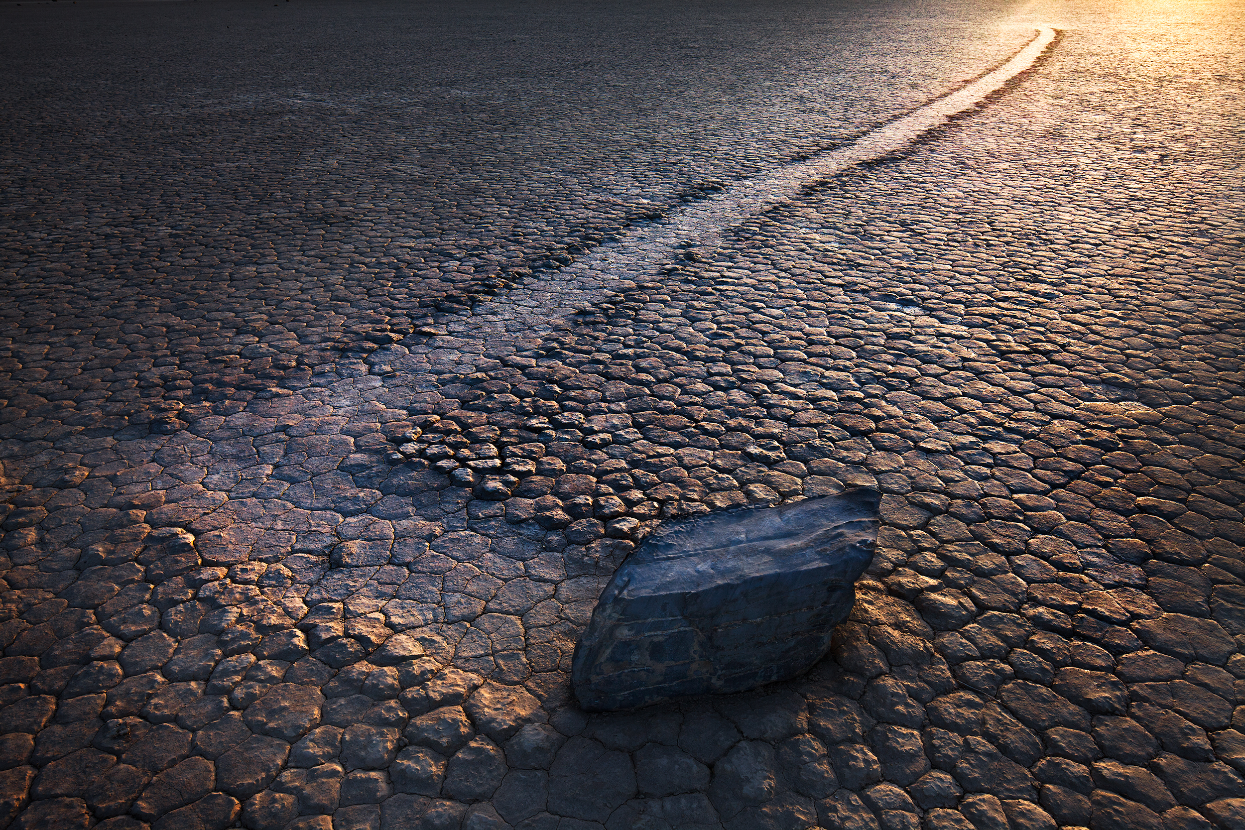 Moving Rock Left Turn - Race Track (1607)