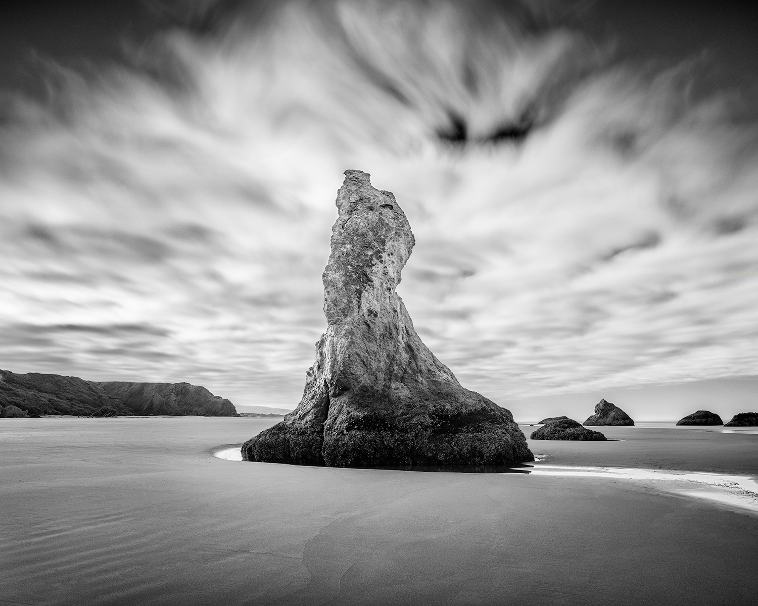 Lone Sea Stack - Bandon (0315)