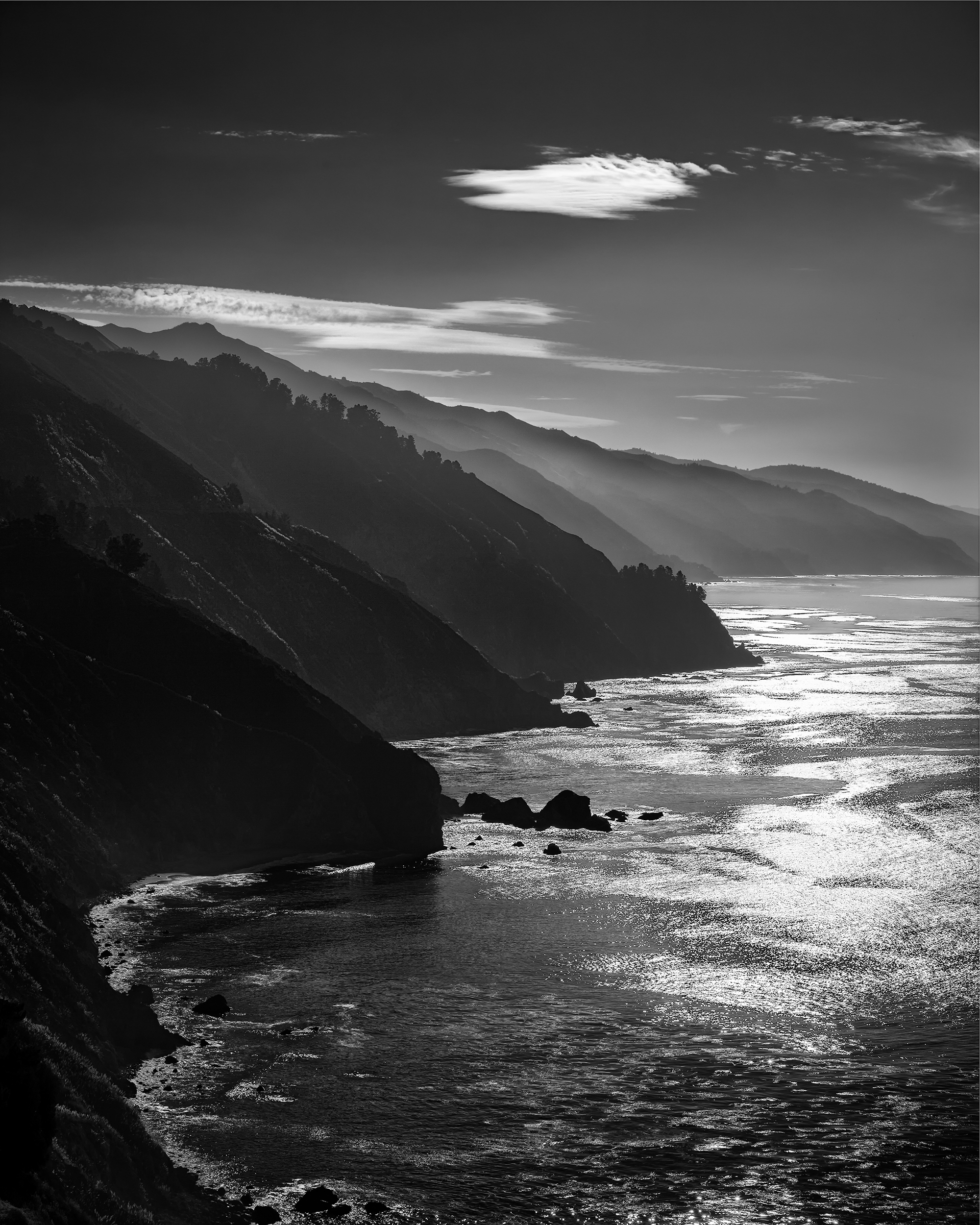 Morning Shimmer - Big Sur (1430)