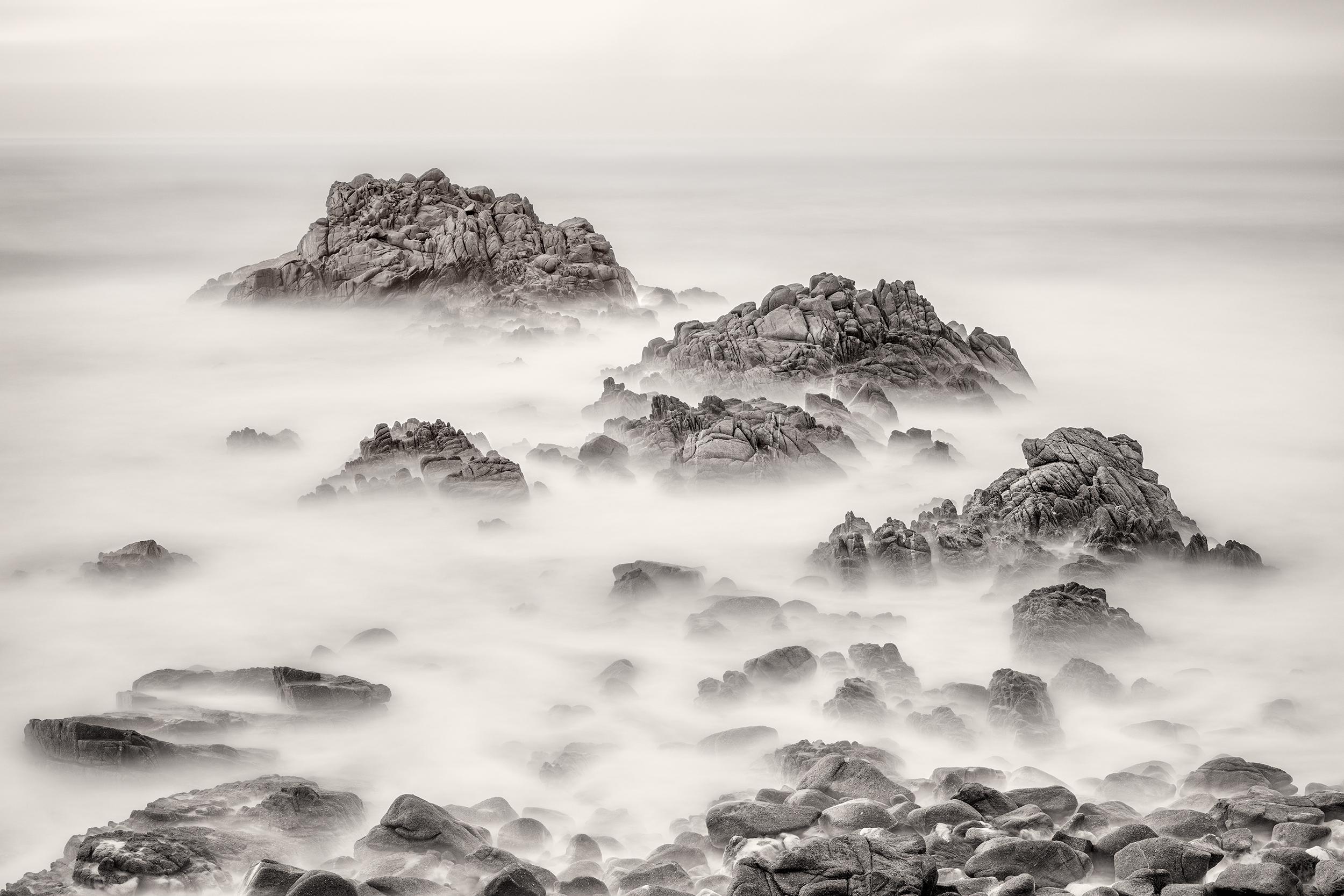 Asilomar Rock Study I - Pacific Grove (BW1914)