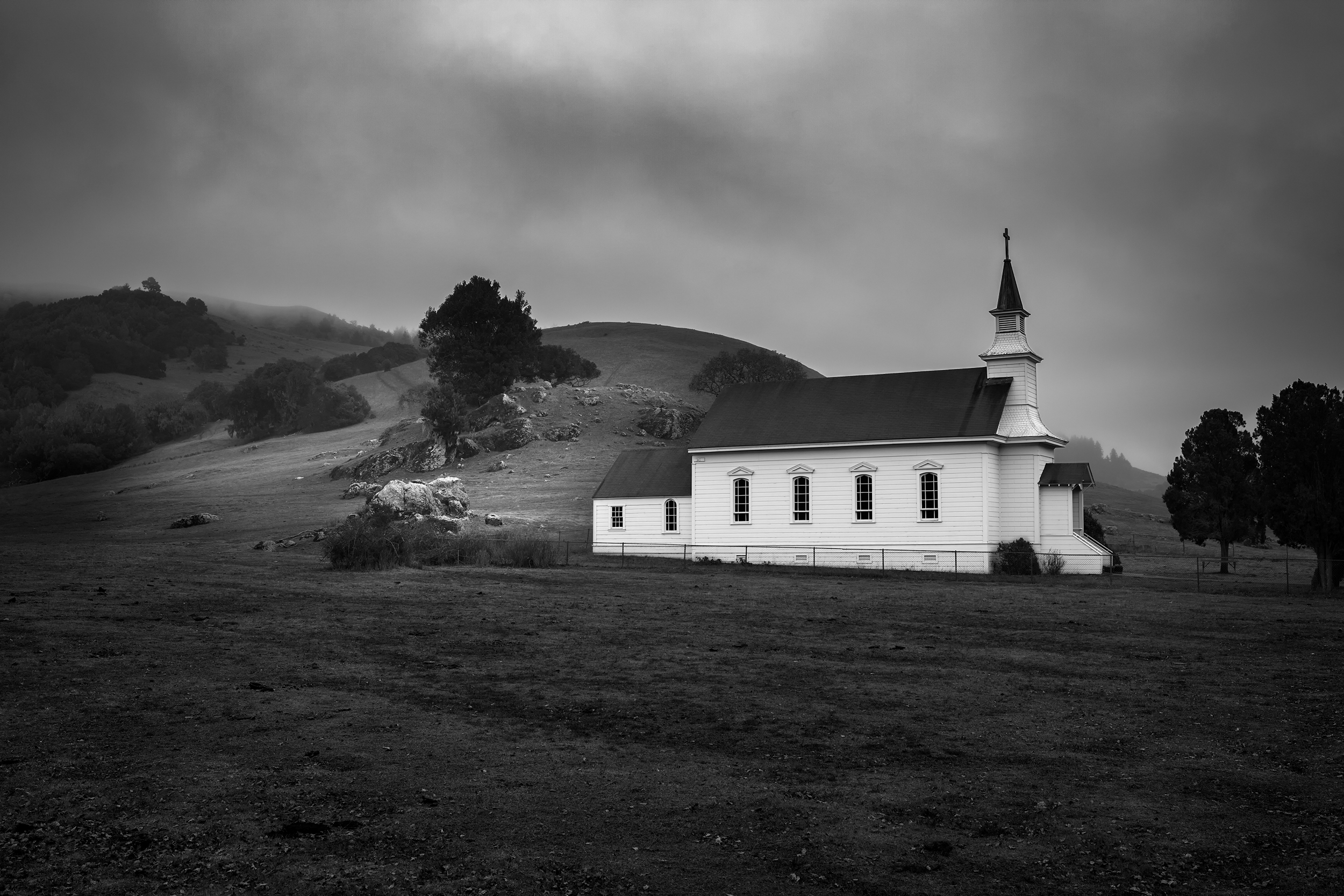 Old Church - Nicasio (2645)