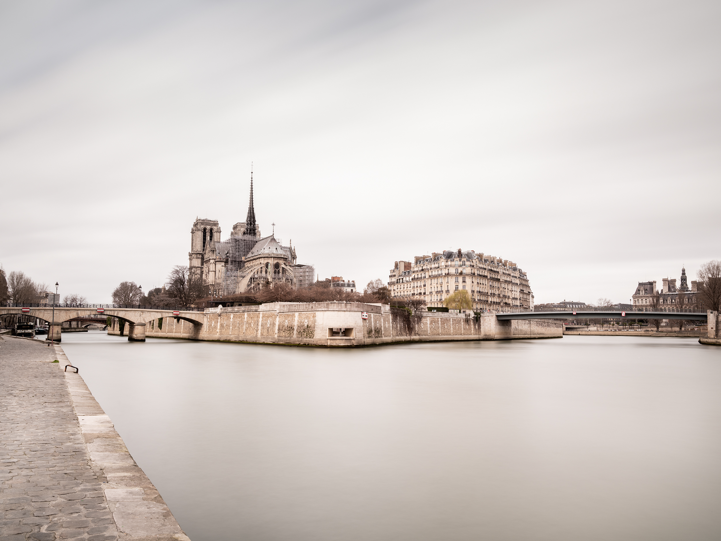 Seine and Notre-Dame- Paris,  France (4044)
