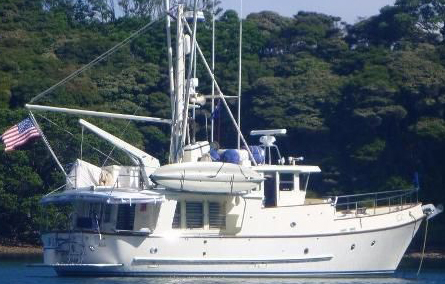The Nordhavn 46 has been around a long time, and is the stuff of passage making dreams, just as Robin Lee Graham on  Dove  sparked the imagination of an entire generation of sailors.