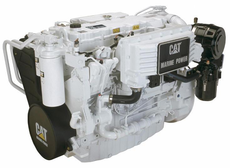 The Caterpillar C-9 Marine Diesel Engine