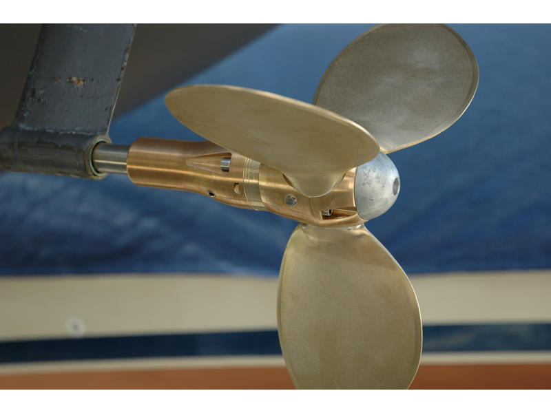 A feathering prop is the first step in improving boat speed under sail. It works well under power, which is important.