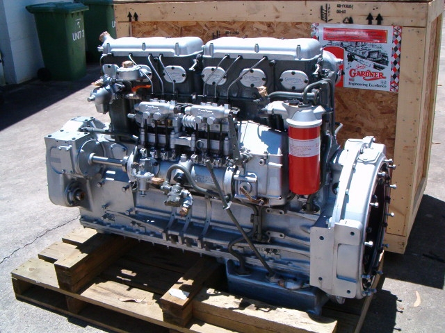 The legendary Gardner engine, the undisputed King of Marine Diesel Engines. This reconditioned Gardner 6LXCT diesel engine is ready for installation. I have been on boats that were built simply because the owners were able to locate a Gardner engine in running condition.