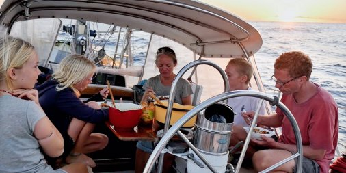 The family crew of  Totem  have been making the news recently, a family who successfully continue to sail the world.
