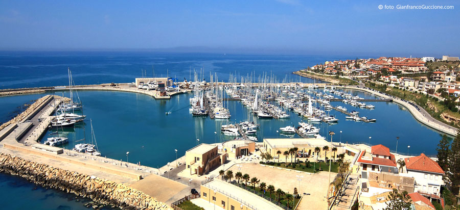 The newer facilities of the Marina de Ragusa in Sicily make it a popular place for the international crowd. Image by Gianfranco Guggione.