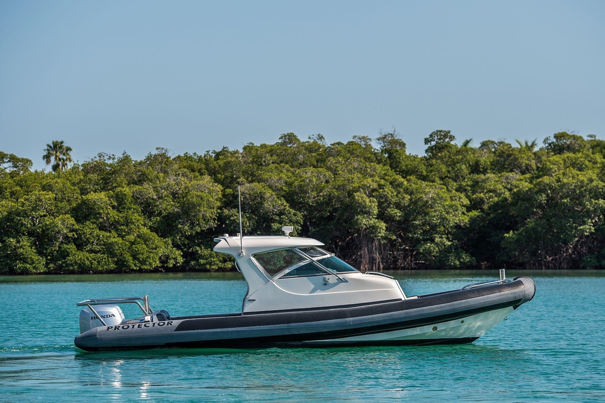 The Protector 28 Targa, built for tough duty in New Zealand.