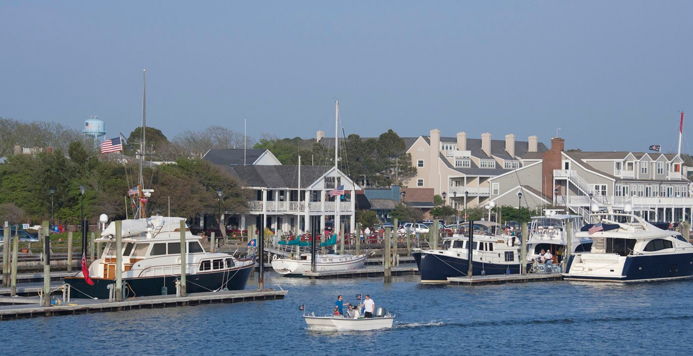 You could easily spend a couple of days in Beaufort, North Carolina. Great sights, food, history, and shopping.