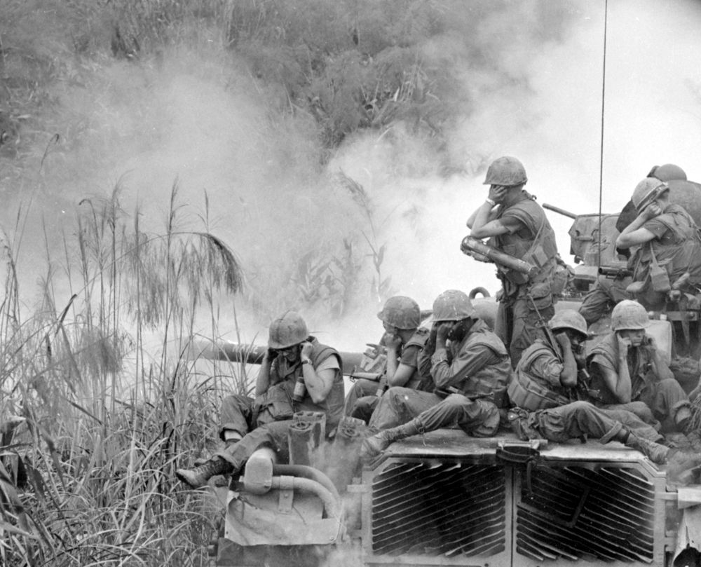 Marines in Vietnam. Most of us know servicemen who still carry the scars to this day.
