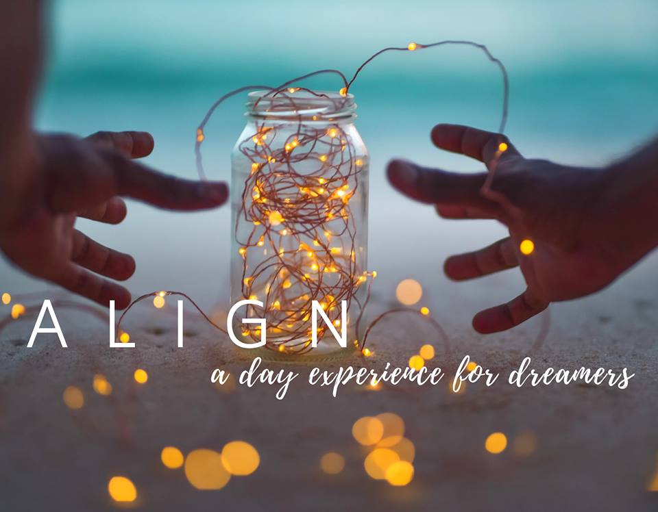 Align a day experience for dreamers New Year retreat