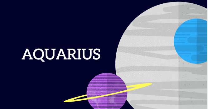 Colors that look great on Aquarius are…..