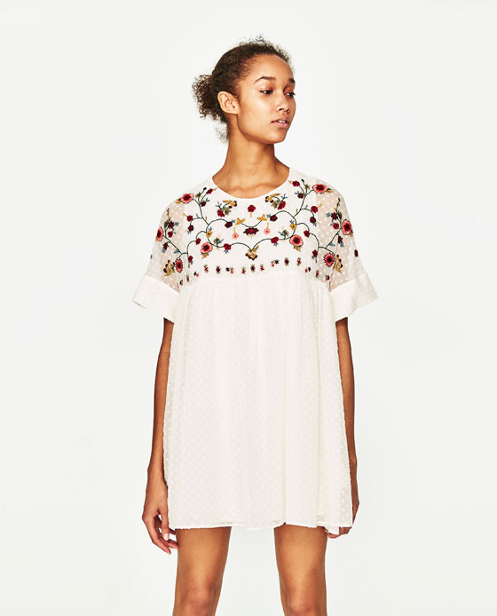 Embroidered Jumpsuit Dress from Urban Outfitters  - $49.90