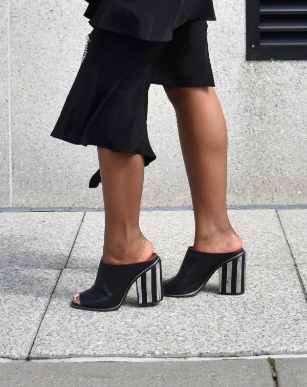 NYFW S/S 2018 Street Style Shoe Details
