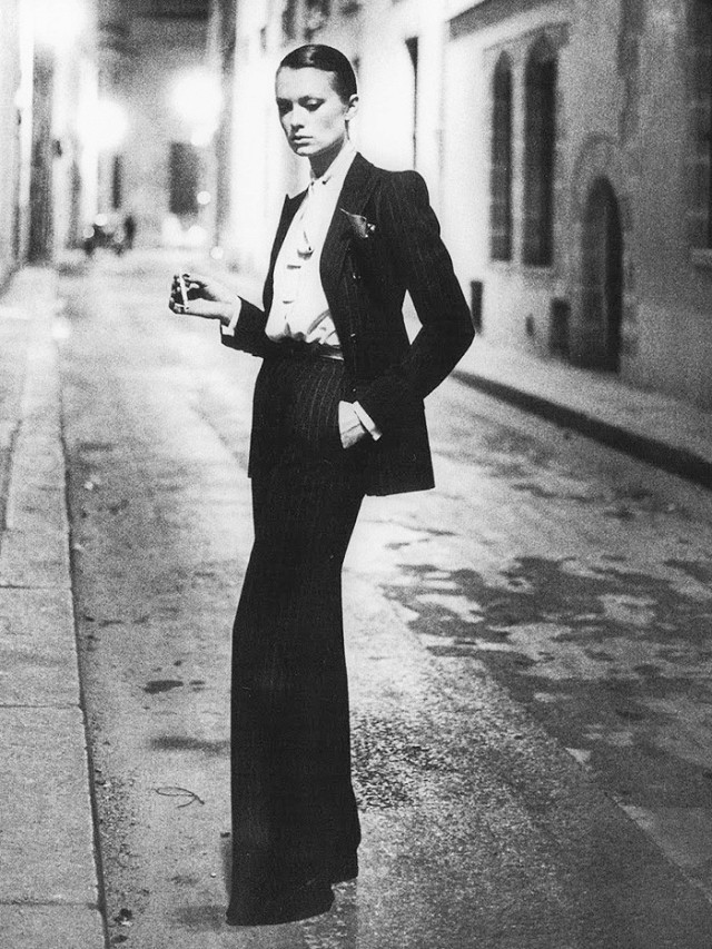 YSL's Le Smoking Suit Debut, 1966