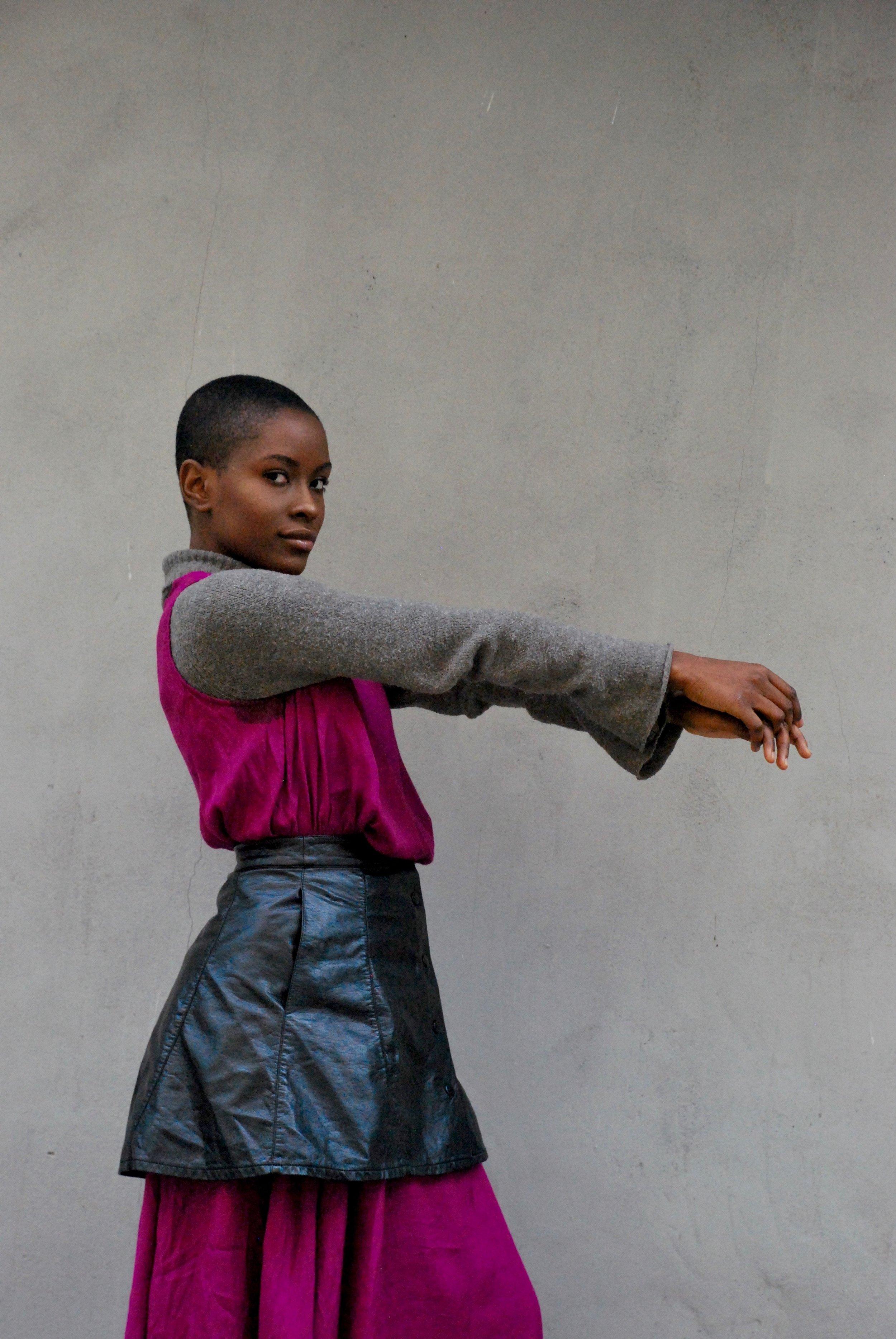 Model & Activist Rubi Photographed by Sola Onitiri