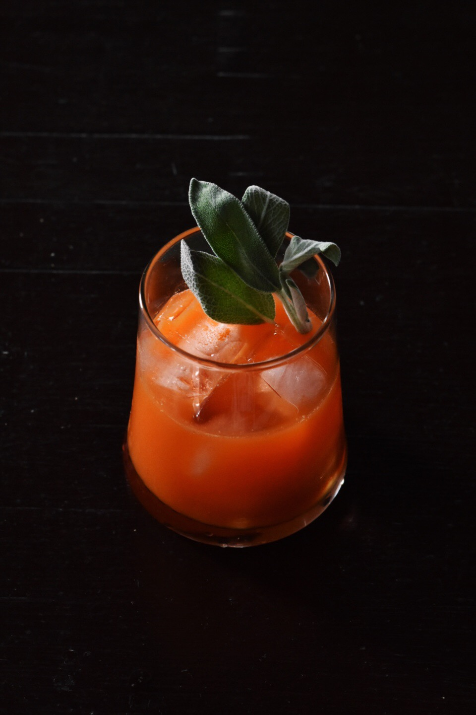 It's like a hearty side dish in a glass...with whiskey Photographed by Sola Onitiri