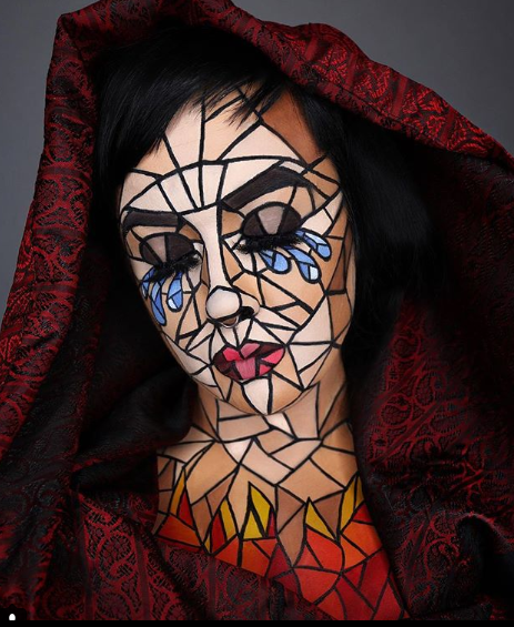 15 Spooky Halloween Makeup Looks From Instagram