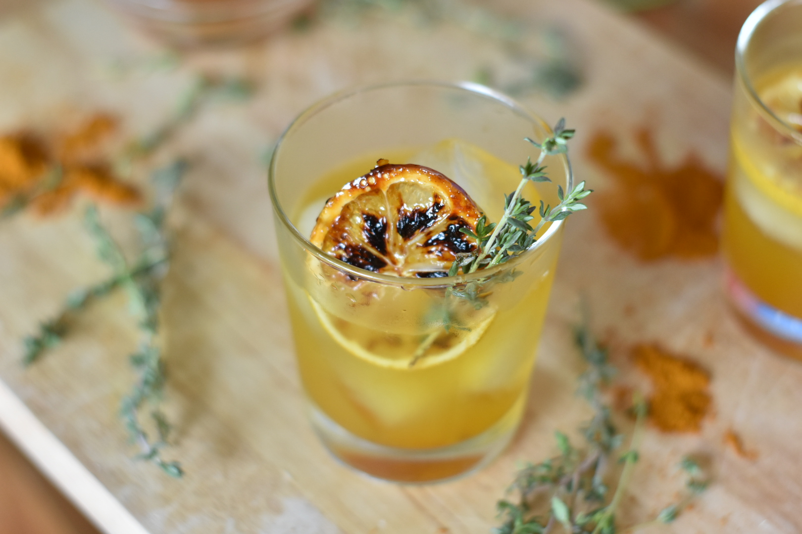 Turmeric Ginger Cocktail The Witch Doctor