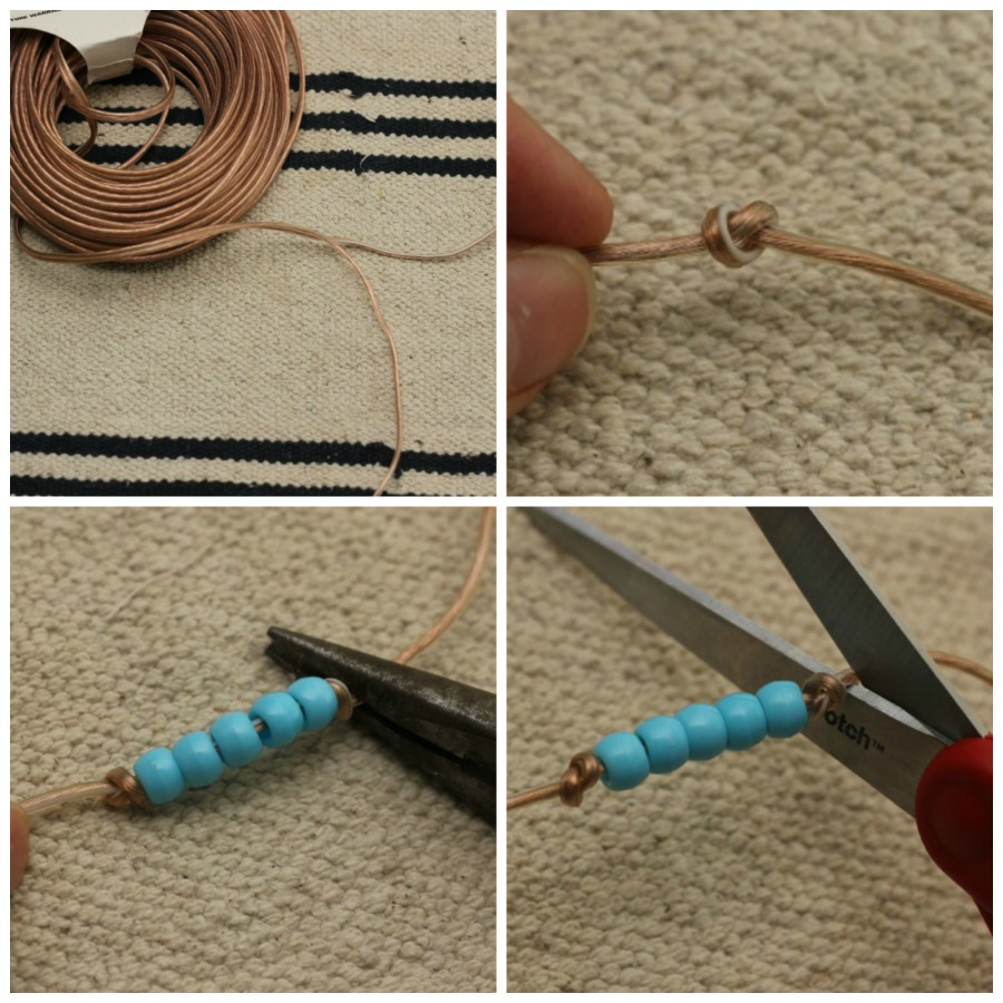 DIY Montessori Beads! I'm in! This method is the easiest and most durable out there!