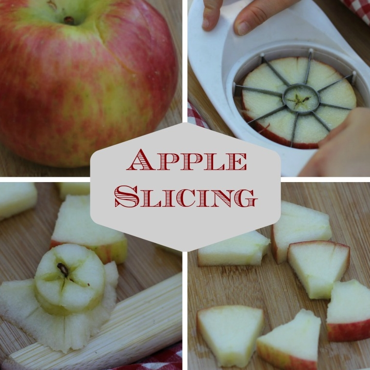 Apple Slicing for Practical Life - The one weird trick that will save your apple slicing work (if you were doing it wrong!)