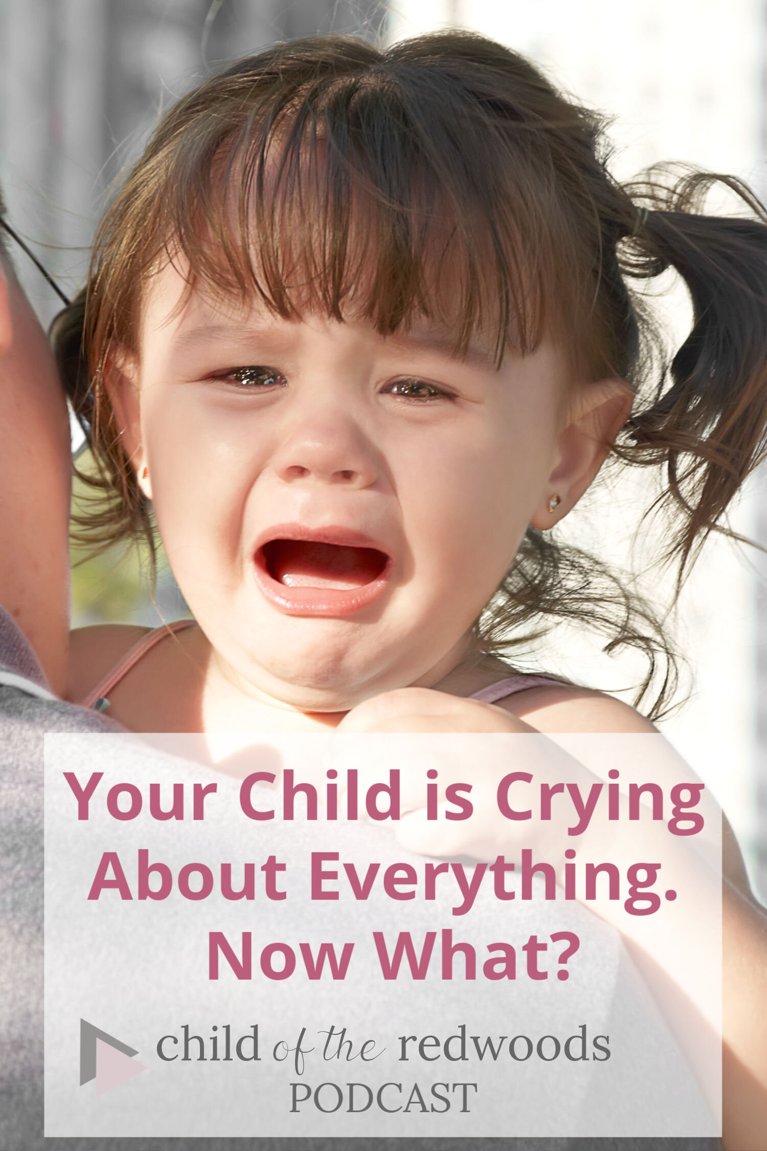 Your Child is Crying About Everything. Now What?