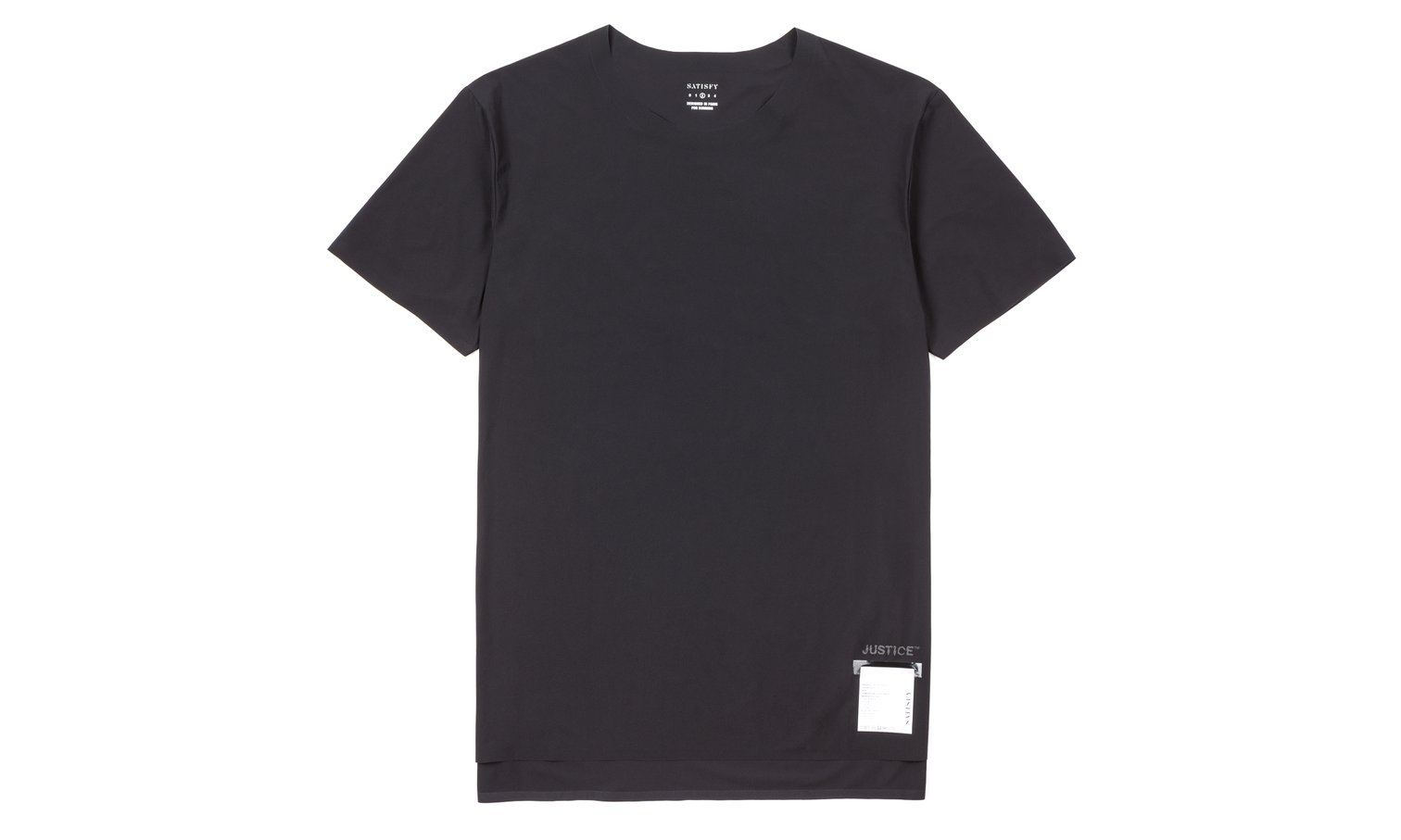 Satisfy Running - Bonded hems, clean cut neck, 4-way stretch and sweat wicking = ultimate life tee