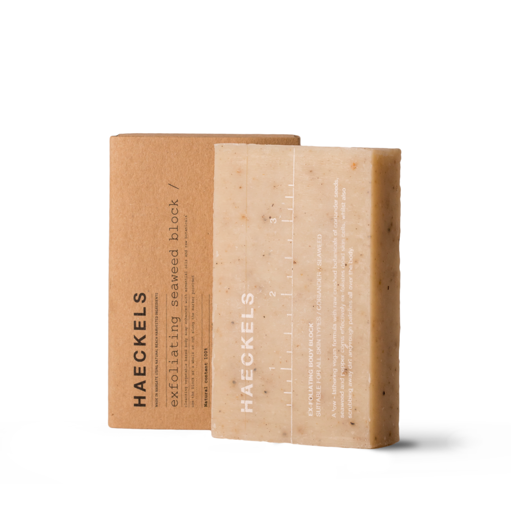 Haeckels - A brand making things from the sea, right on their doorstep.