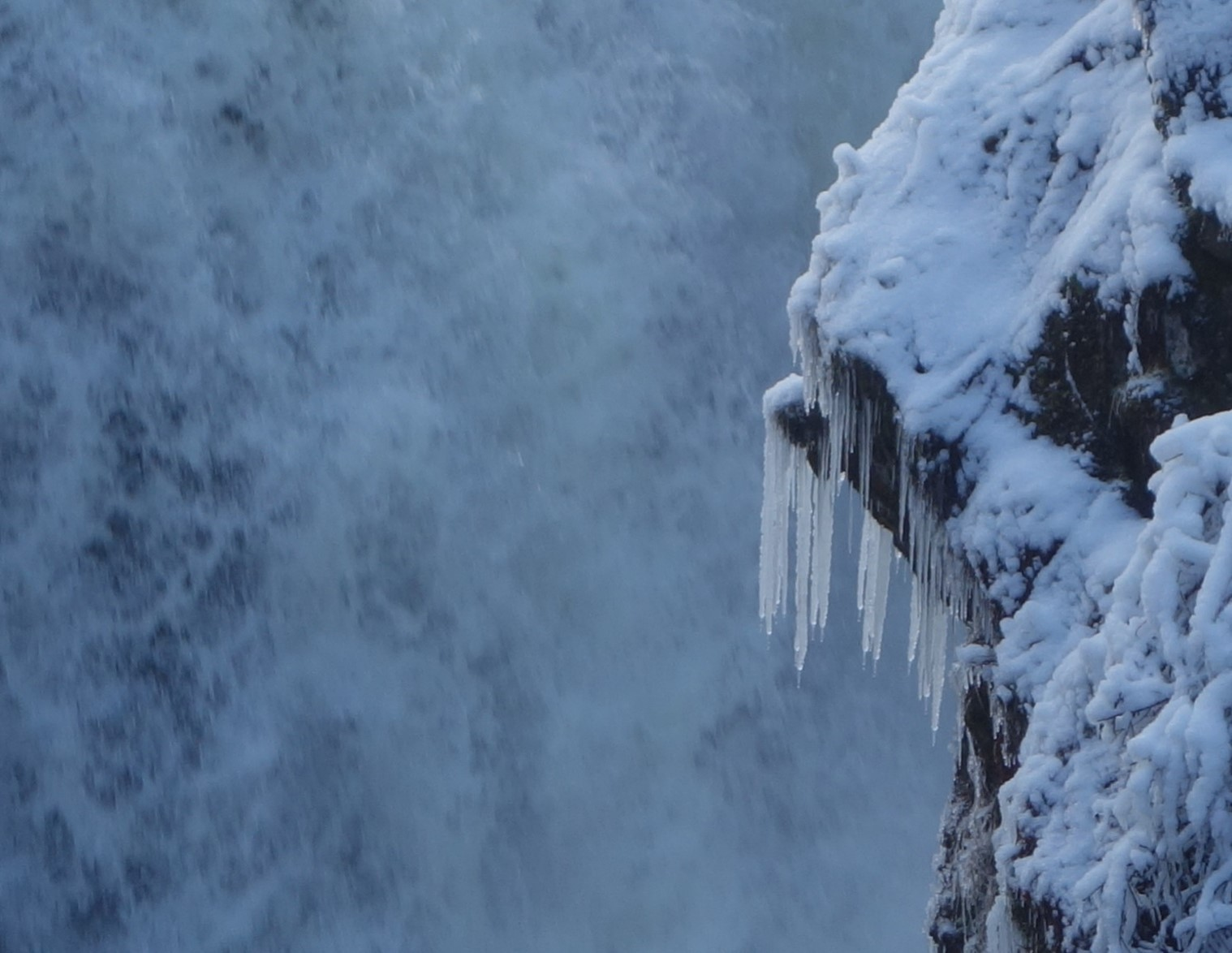 JoJourneys | dripping ice, winter