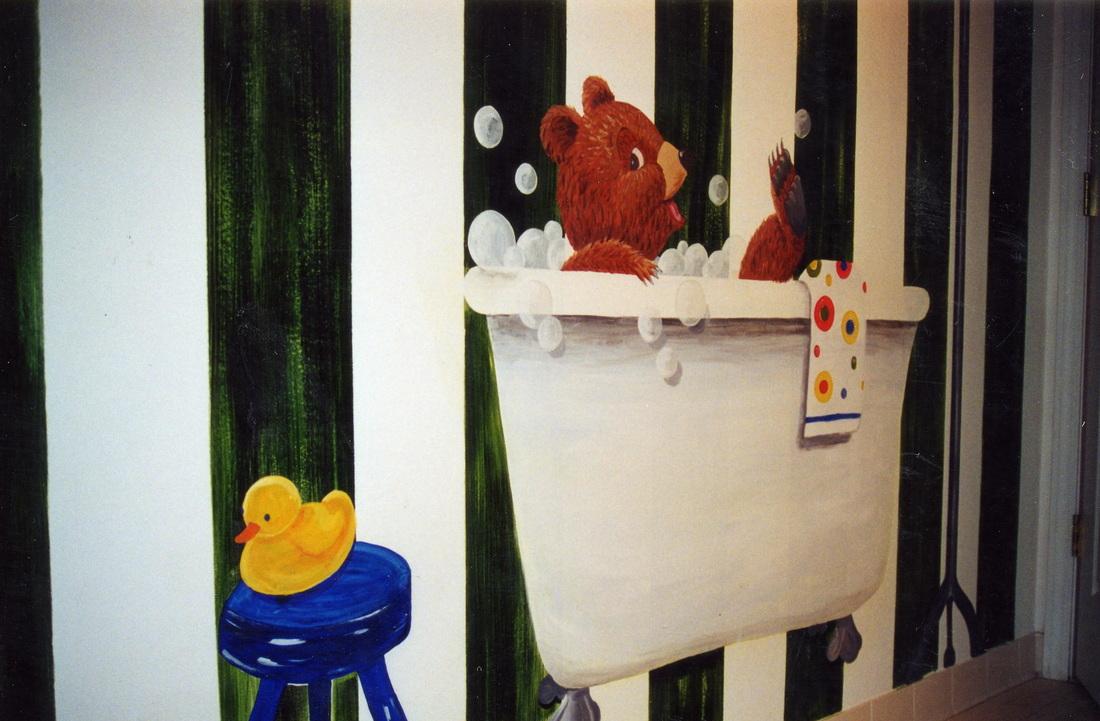 Never bathe alone!