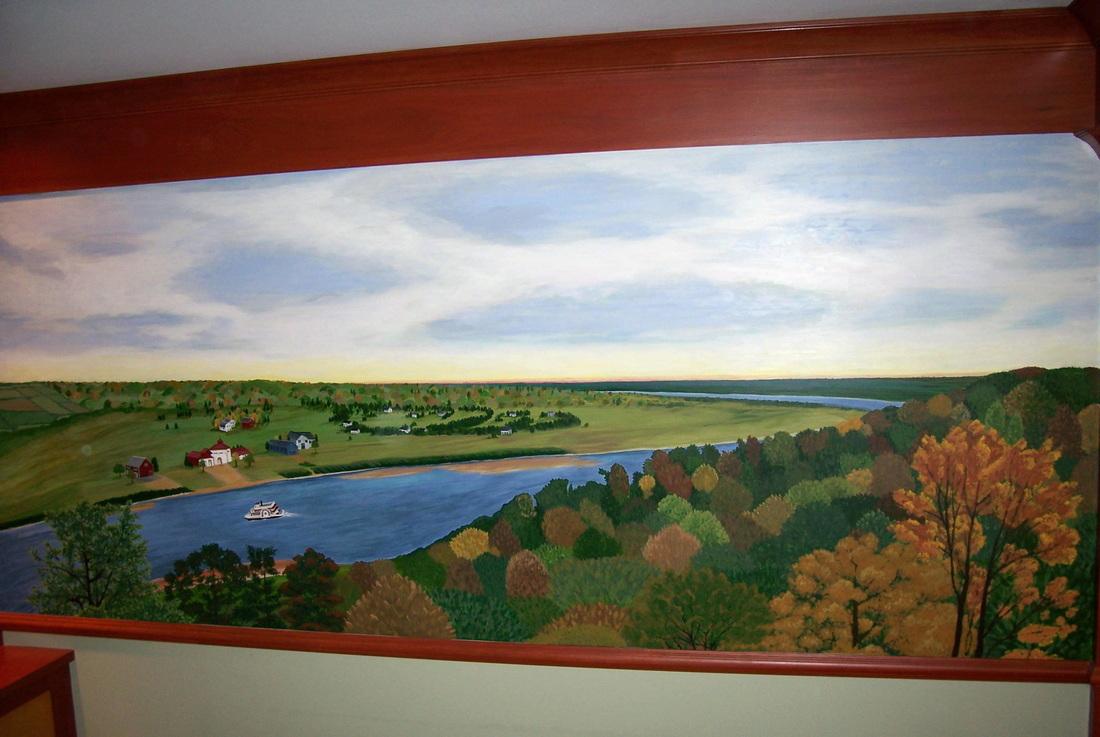 Ohio River mural