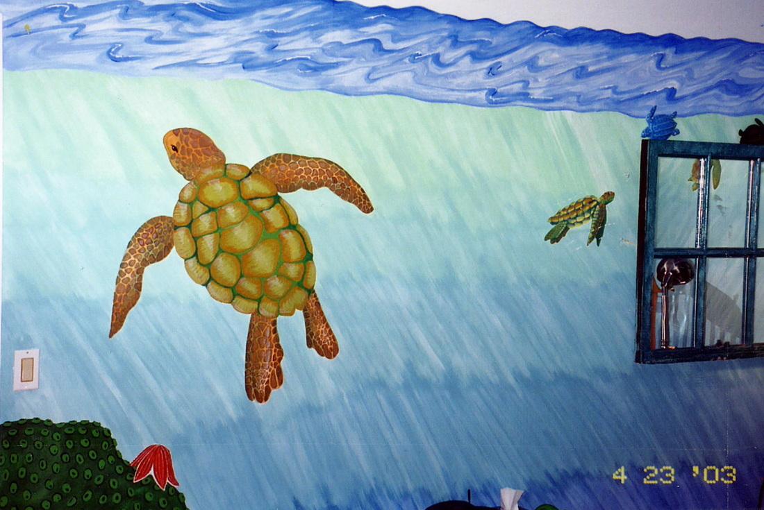 Sea Turtle mural