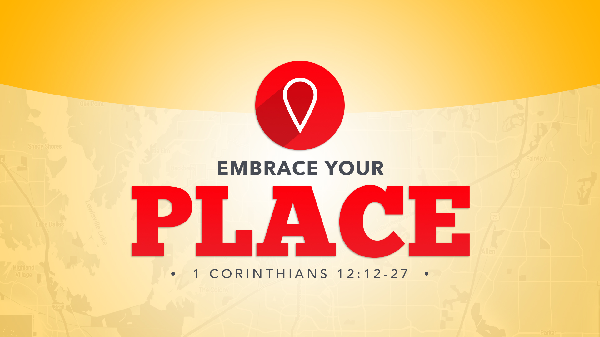 Embrace Your Place  - October 2017