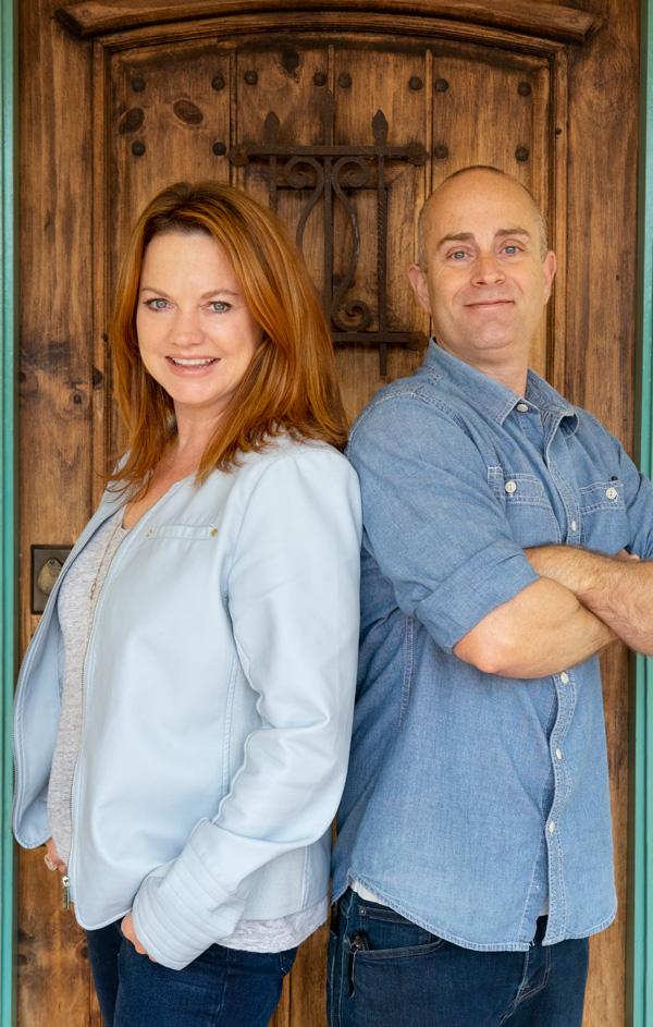 Christine Cowles & mauricio Bergamin, owners