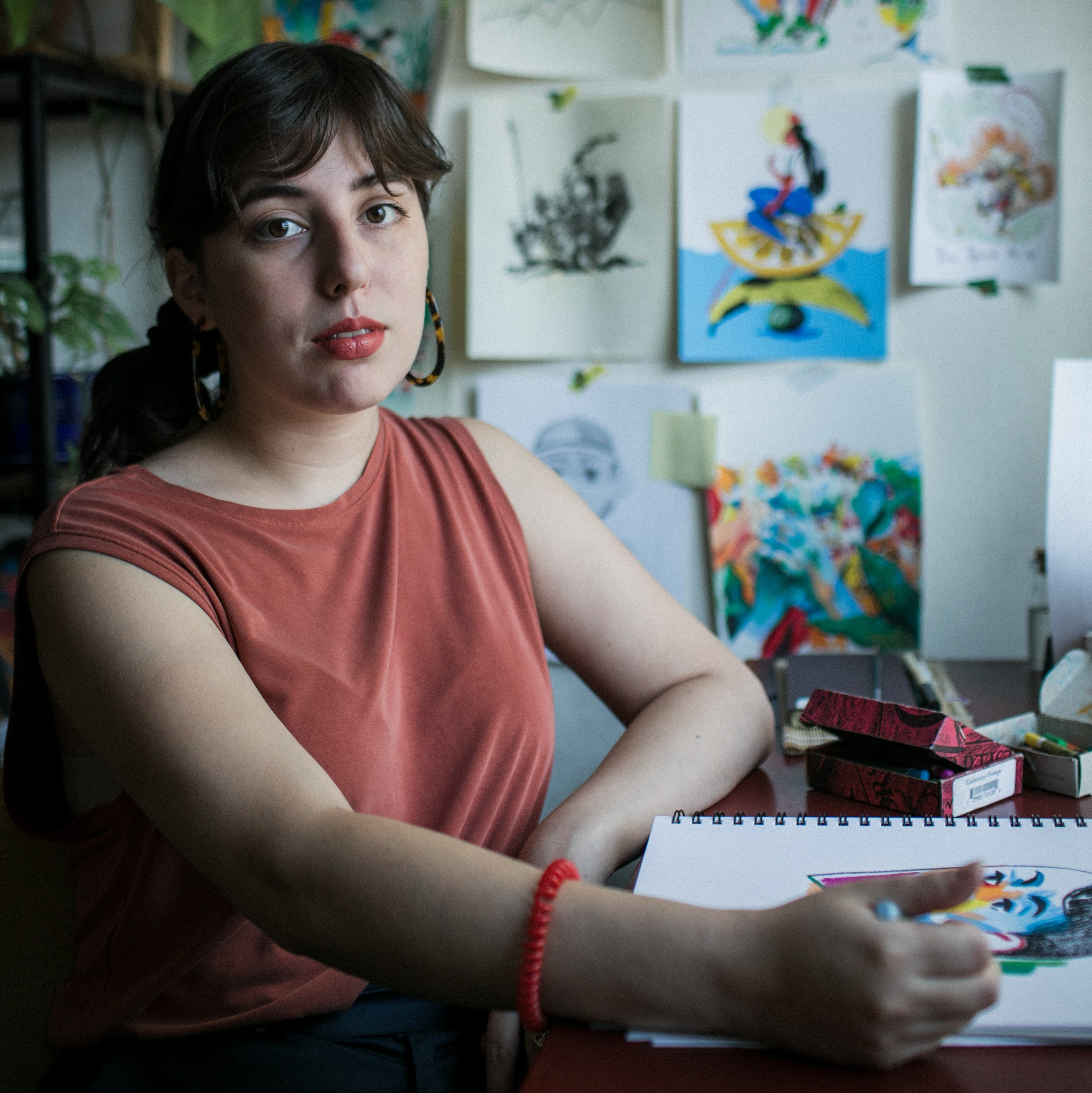 MOlly Mendoza     Illustrator   Photo by  Celeste Noche   Interview by  Micah Pegues
