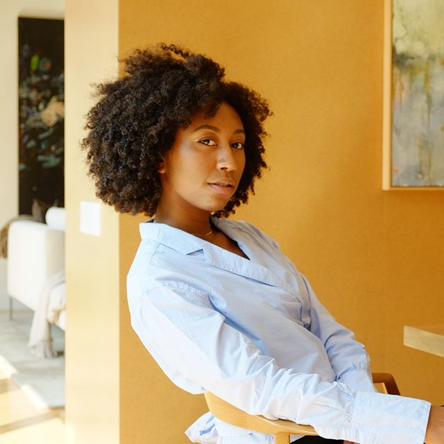 On the blog today is our interview with Trinity Mouzon Wofford @trinitymouzon, the creator of Golde Turmeric @golde ! Link in bio. 🍵 〰️ Photo by @isseykobori Interview by @kennedy_symone