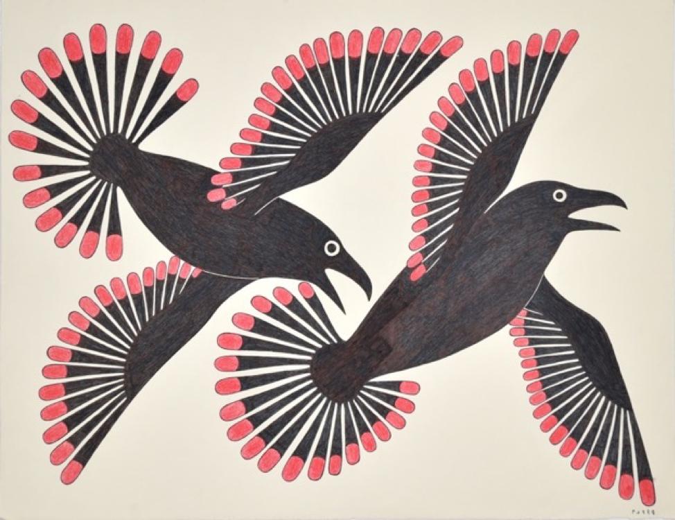 Dancing Ravens