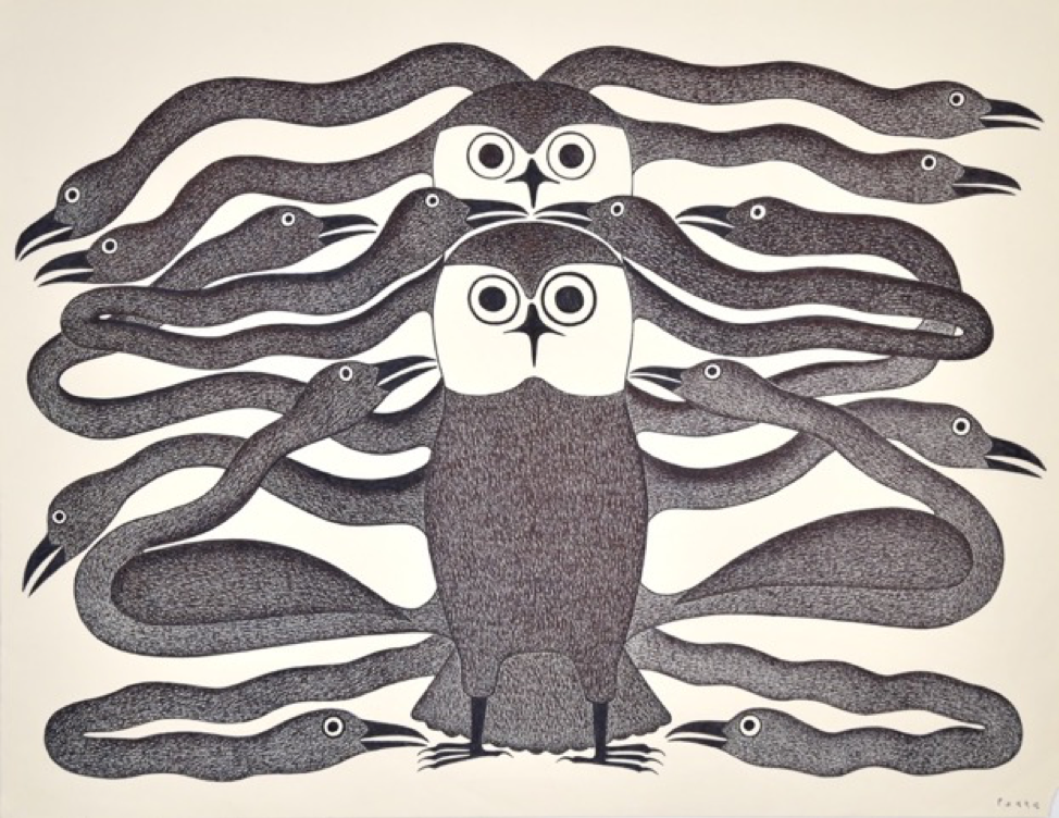 Owls Enveloped