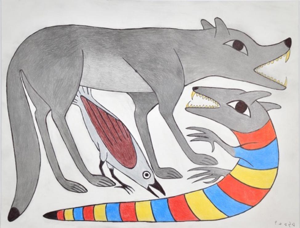 Serpentine Wolf II