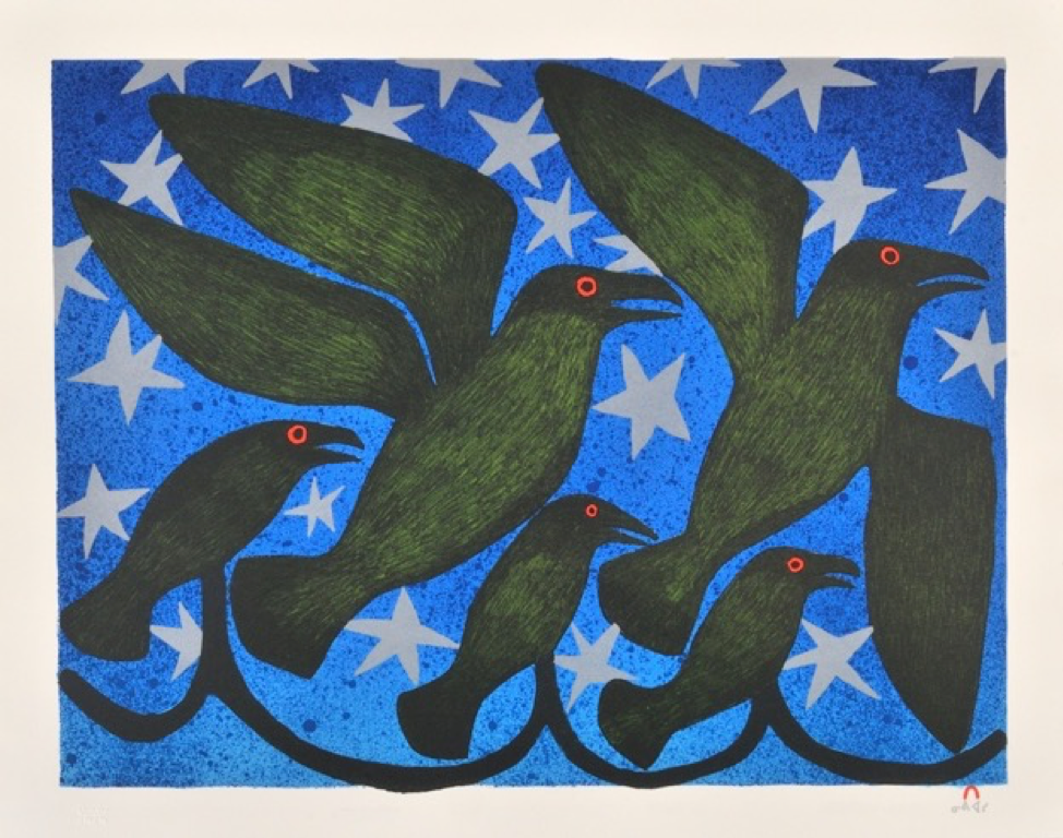 Starlit Ravens