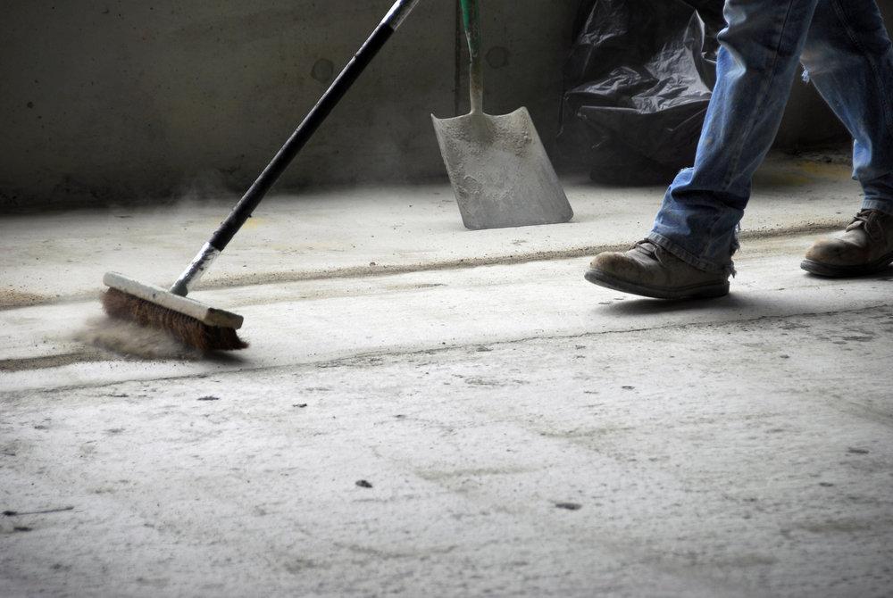 Nettoiement des sites industriels