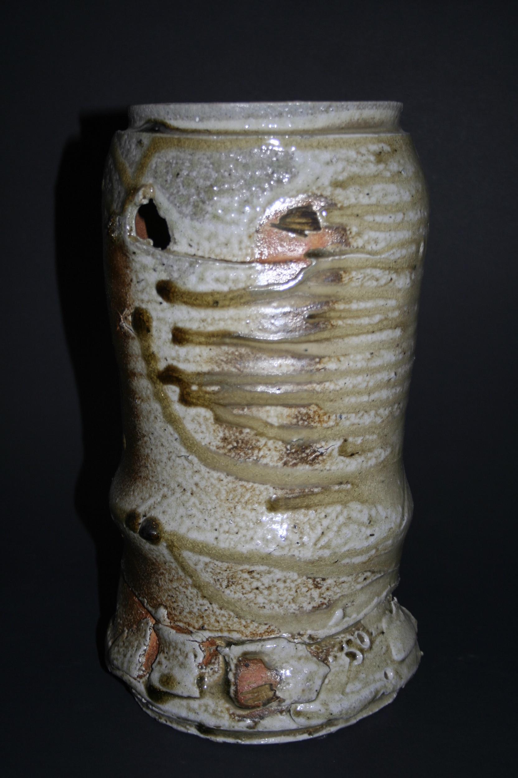 Torn thrown vessel