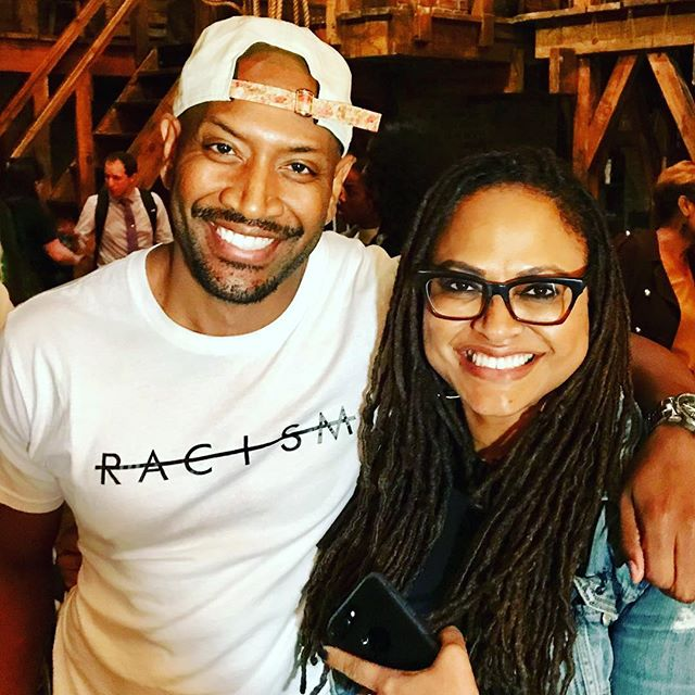 "@therealbtc in the @beindefined ""No Racism Tee"". .....So @ava Just dropped the news on my Insta-Story... so I guess I can say it now... I'm joining the cast of #centralparkfive . I'm honored and humbled to work on this important story and with my talent crush and directing Shero! #avaduvernay"