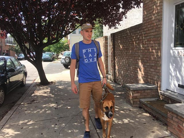 Strolling South Philly in some new designs. Check out philalove.com tonight! • • • #philly #philadelphia #southphilly #fishtown #tshirtdesign #design #screenprinting #philalove #typography #dogs #teddymodeling
