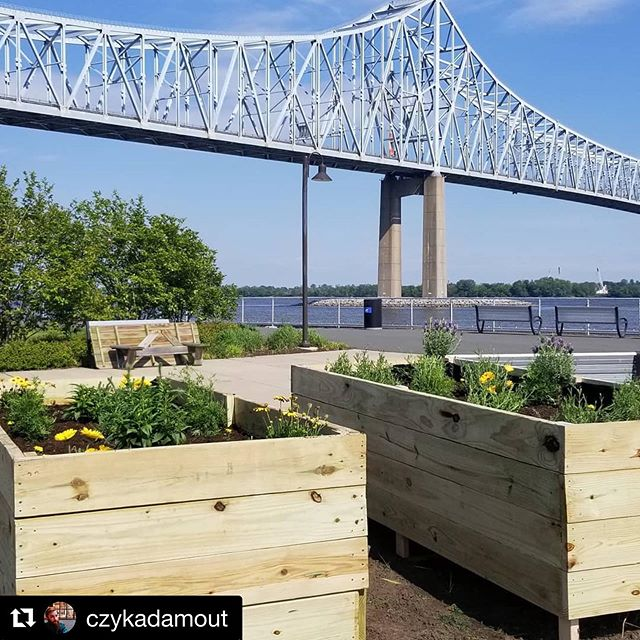 #Repost @czykadamout with  @thesacredseeds therapeutic gardens outside @philaunion home field are ready to be unveiled at tomorrow's #mls game.  #doop #1stplace #urbangarden @gnomadicgreens