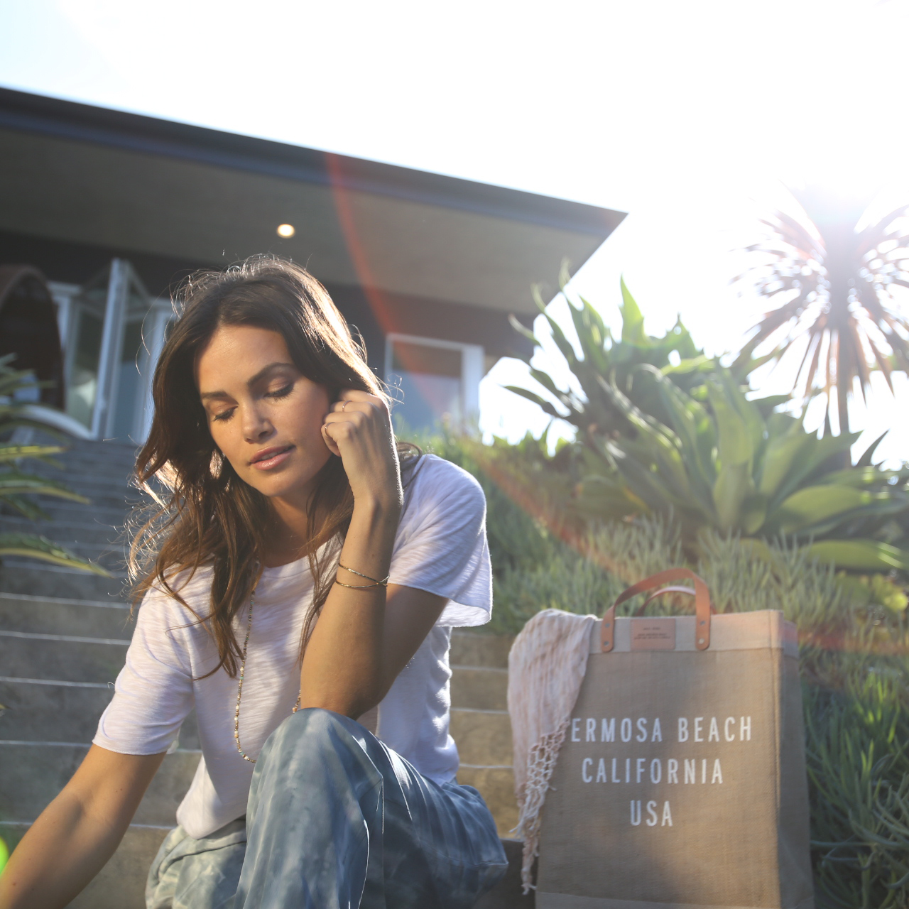 Exclusive Retailer of Apolis Hermosa Beach Market Bags