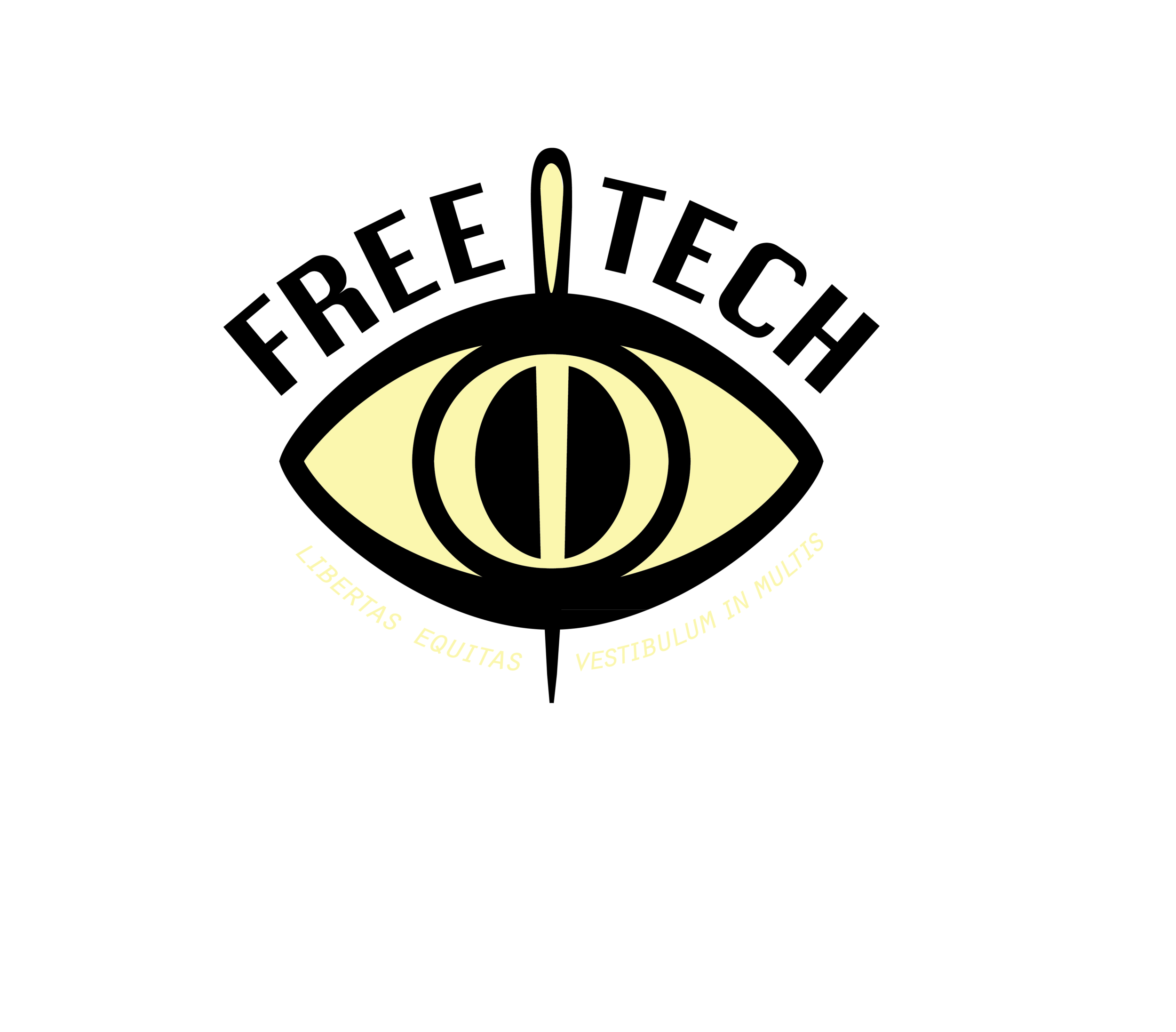 Logo for vigilante group in comic book